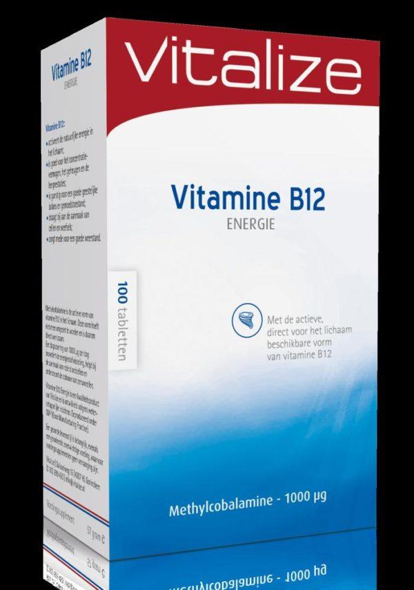 Vitalize Vitb12 Energie Smelt 100T
