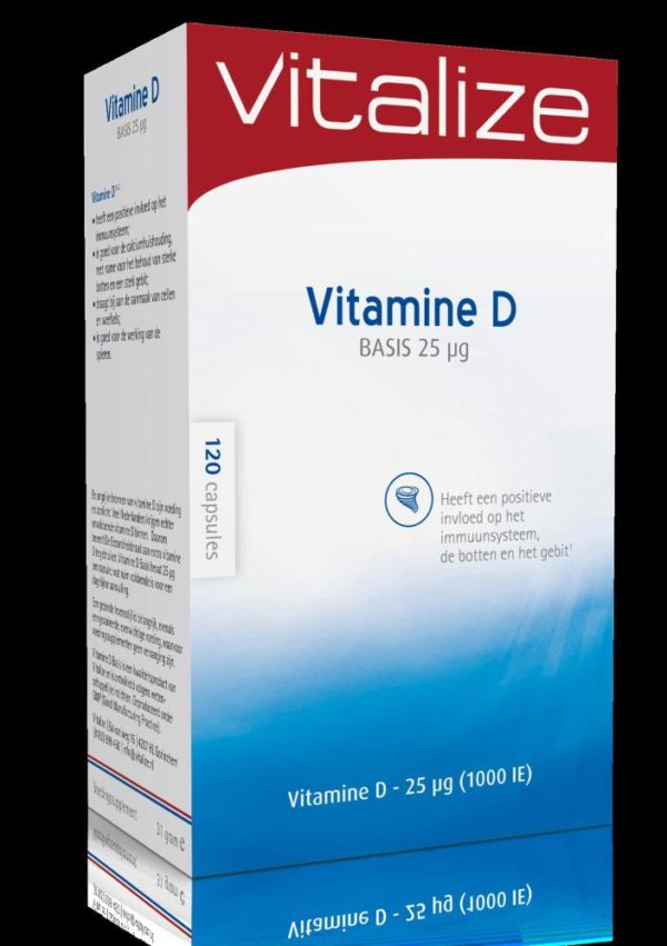 Vitalize Vit D Basis 25Mcg 120C
