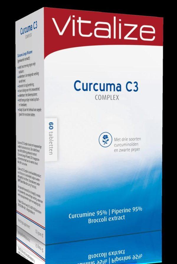 Vitalize Curcumine C3 Complex 60T