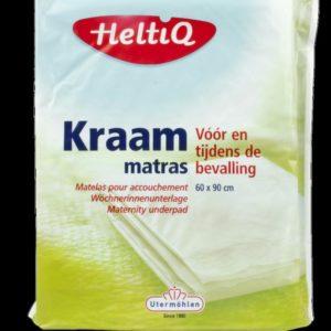 HELTIQ KRAAMMATRAS 60X90CM 2ST