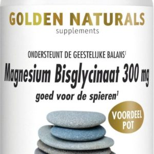 GOLDEN NATURALS MAGNES BISGLY 180T