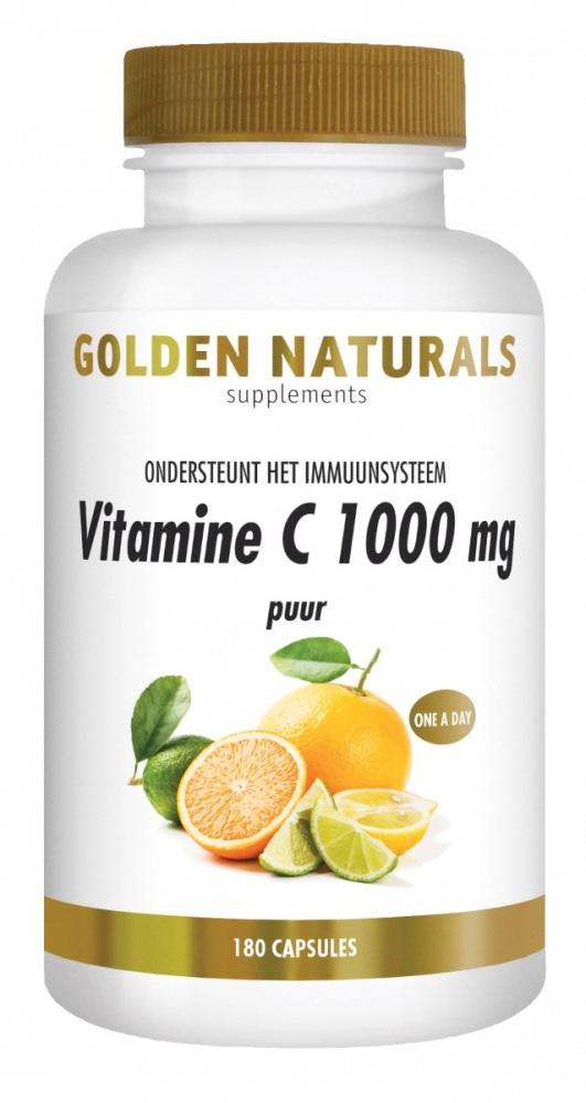 Gn Vit C 1000 Mg Puur 180 Veganisti