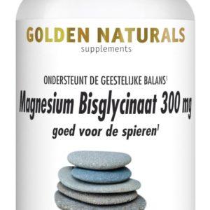 GOLDEN NATURALS MAGNES BISGLY 90VT