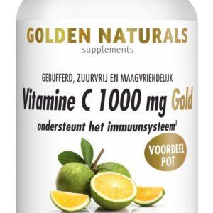 GOLDEN NATURALS VIT C1000 GOLD180VT