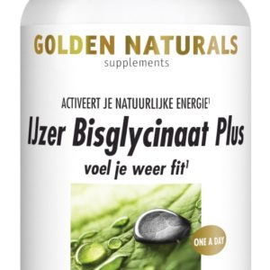 GOLDEN NATURALS IJZER BISGLYC 60C