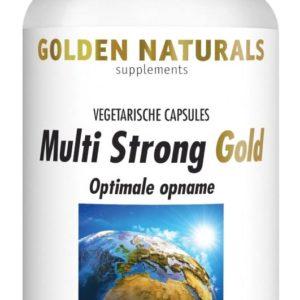Gn Multi Strong Gold 60 Vega Caps