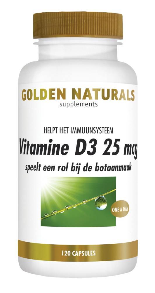 GN VIT D3 25 MCG 120 SOFTGEL CAPS