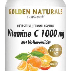 GOLDEN NATURALS VIT C1000 180VT