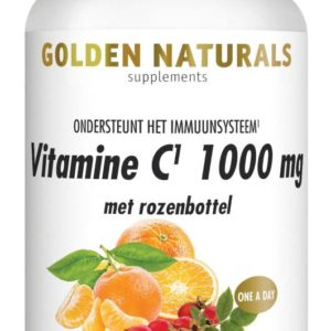 GOLDEN NATURALS VIT C1000 RZBT 60VT