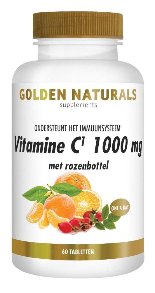 Gn Vit C 1000 Mg Met Rozenbottel 60