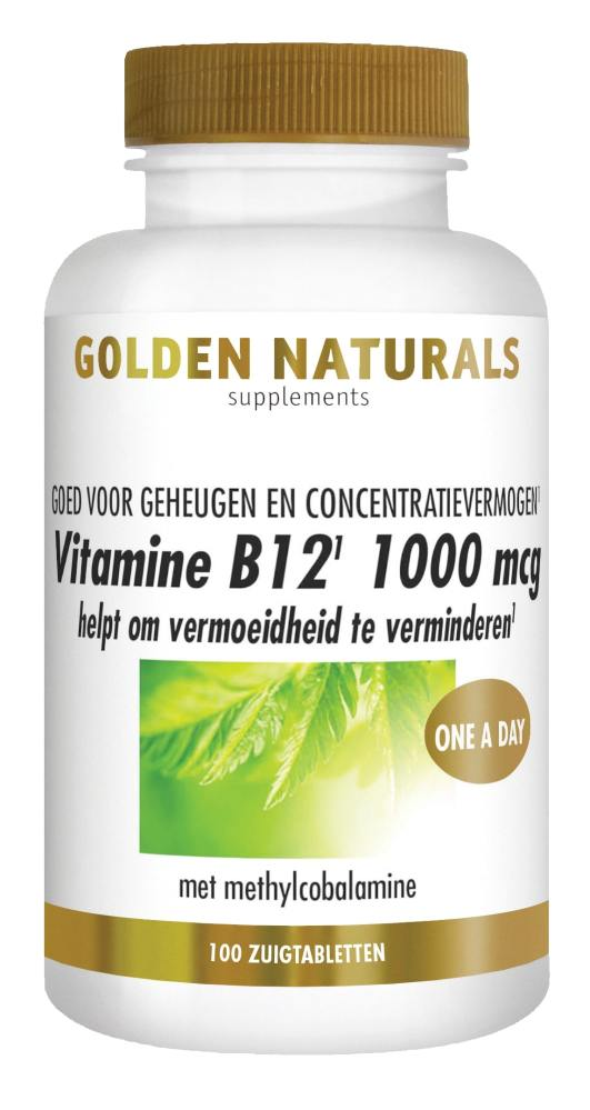 Gn Vit B12 1000 Mcg 100 Veganistisc