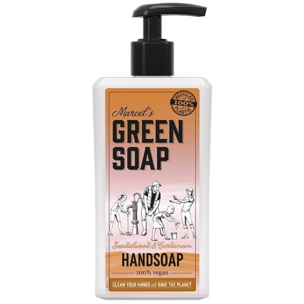 GREEN SOAP HZ SANDEL KAR POMP 500M