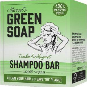 GREEN SOAP SHAMPOOBAR TONKA 90G