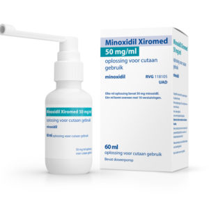 XIROMED MINOXIDIL 50MG UAD 60M