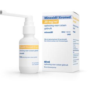 XIROMED MINOXIDIL 20MG UAD 60M