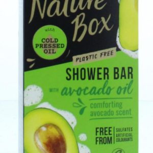 Shower bar avocado
