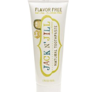 Natural toothpaste flavour free